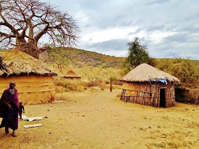 שבט מסאי - טנזניה